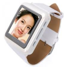 GSM Triband Thin Watch Mobile Phone MP4 Watches Player (AK08)