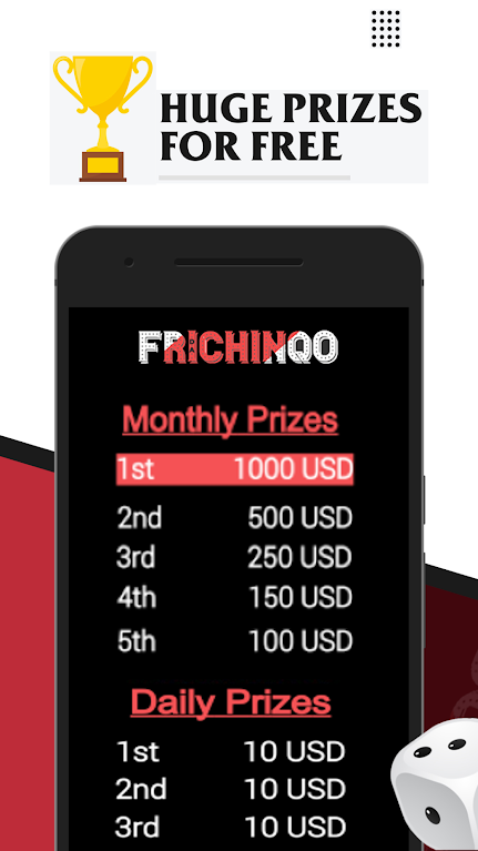 FRICHINQO - huge prizes